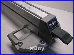 089037020706 Rip Fence Assembly From A Rigid R45101 Table Saw