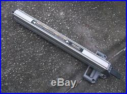 089240015155 Ridgid Rip Fence For R4513 Table Saw Broken Rear Plastic Cover