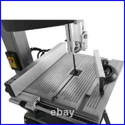 10'' 220V Professional Woodworking Bandsaw Cast Table Solid Fence stand Blade