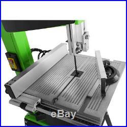 10 Pro Woodworking Bandsaw & Cast Table Solid Fence & Blade 220v