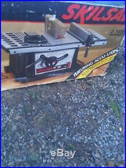 10 SKILSAW Direct Drive Table Saw 3400 with Rip Fence & Miter New in box