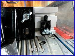 12 Custom Miter Fence for Ryobi & Craftsman Table Saw Sliding Miter Extension