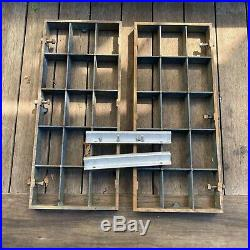 1950s Craftsman King-Seeley 8 Table Saw Wings, Fence Rail Extensions
