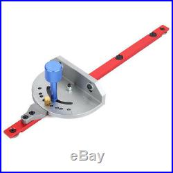 1Pcs Miter Gauge WoodWorking Tool For Router Angle Miter Gauge Guide Fence L7I5