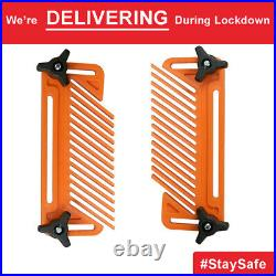 1pair Carpentry For Fence Table Saw Featherboard Woodworking Tools Safety Device