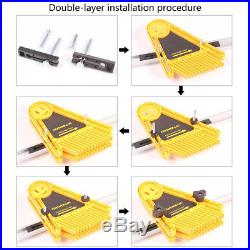 2PCS Double Feather Board For Router Table Saw Miter Gauge Fence Woodworking