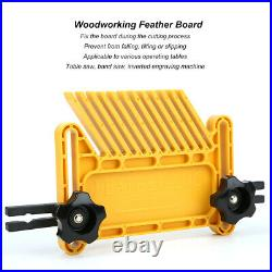 2Pcs Woodworking Feather Board Set For Router Tables Saws Fences Engraving