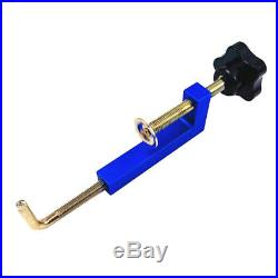 2Pcs Woodworking Fence Clamp for Table Saws Band Saws Cutoff Saws Blue