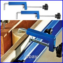 2x Fence Clamp DIY Woodworking Aluminum Alloy Carpenter 120mm NEW