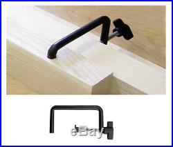 4 Ribbon Saw or Table Saw Fence Clamp / Router table & Miter Saw Stop Block