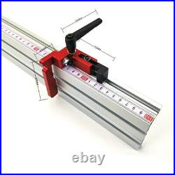 400mm Aluminum Angle Miter Gauge Sawing Assembly Ruler Woodworking Tool