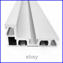 400mm T-Slot Fence Stop 75 Type Miter Track Woodworking Tool Table Saw Equipment