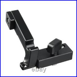 450-1220mm Woodworking Miter Gauge Fence Table Saw Fence T Slot Aluminum Alloy