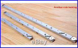 450mm Aluminum sliding slab block for Router Table Saw Fence