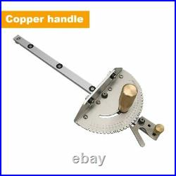 450mm Miter Gauge With Track Stop Table SawithRouter Miter Gauge Sawing Assembly