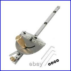 450mm Table Saw BandSaw Router Angle Miter Gauge Mitre Guide Fence Cut Aluminum