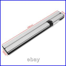 450mm Table Saw BandSaw Router Angle-Miter Gauge Mitre Guide Fence Cut Aluminum