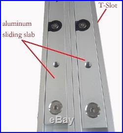 650mm Aluminum sliding slab block for Router Table Saw Fence