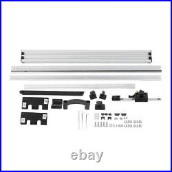 800mm Table Saw Fence Set With Fine Adjustment Knob For Flip-chip Circular Saw