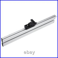 Aluminum Alloy Table Saw Miter Gauge Fence With Track Stop For