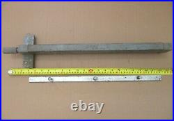 Atlas 8 Workshop 9310 Table Saw Rip Fence Assembly With Slide Rack