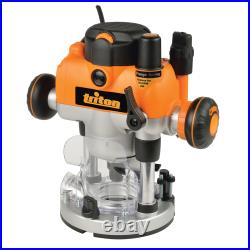 Award Winning Precision Plunge Router & FENCE -1/4 1400W Variable Turret