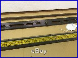 CRAFTSMAN Table Saw Guide Fence Rails & Bolts Fits Md 113.241690 C-M28