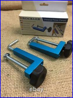 Clearance Lot 433225 Rockler Universal Fence Clamps For Table Or Band Saws
