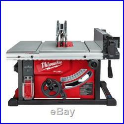Cordless Table Saw Kit 18V Brushless Motor Rack Pinion Fence System Power Tool