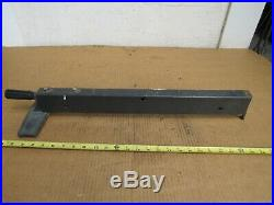 Craftsman 113. XXX 9 10 Table Saw Twist Lock Rip Fence For 20'' Deep Table Top