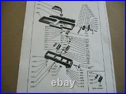 Craftsman 4-3/8 Jointer Planer Model 103.23340 Complete Cutter Head 29109