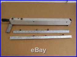 Craftsman 9'' Motorized Table Saw Twist Lock Rip Fence With Rails