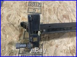Craftsman Table 10 Table Saw Cam Lock Micro Adjust Fence