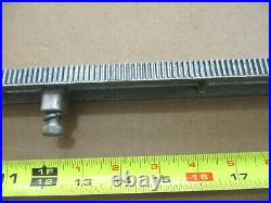 Craftsman Table Saw 6305 Fence Gear Rack from Older Model 113.27610 29731 etc