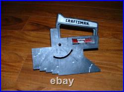 Craftsman Table Saw Fence Guide System Model 720-32370