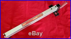 Craftsman Table Saw Rip Fence for model#137.248880
