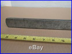 Craftsman Table Saw Toothed Fence Rail 23-11/16 FROM MODEL 113.29991