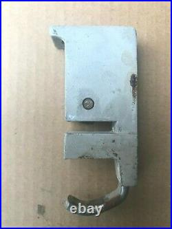 DELTA ROCKWELL REAR SLIDE BLOCK FENCE CLAMP for 9 or 10 TABLE SAW 1 1/8 Bars