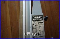 DELTA TABLE SAW UNI SAW FENCE with 43 Fence Tube