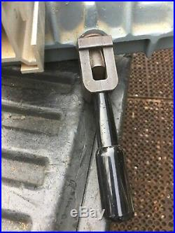 DELTA TABLE SAW UNIFENCE SAW GUIDE FENCE HEAD UNISAW 33 1/2 FENCE Nice Shape