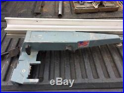 DELTA TABLE SAW UNIFENCE SAW GUIDE FENCE HEAD UNISAW 43 FENCE Nice Shape