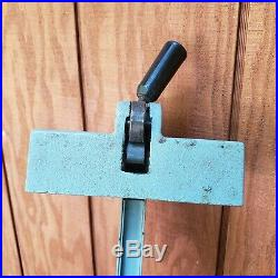 Delta 10 Table Saw 34-670 Fence DTS-01 20 Part Attachment Rare Vintage Clamp