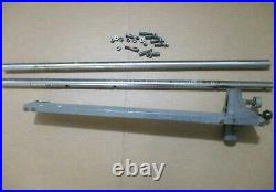 Delta Rockwell 34-440 Model 10 Table Saw Rip Fence & Rails with Hardware