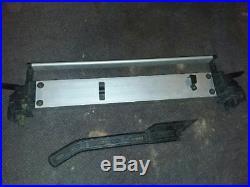 Dewalt Table Saw 744 Type 2 rip fence and push bar