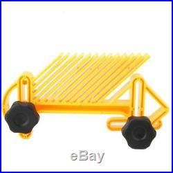 Double Feather Board Set for Router Table Saw Fence Woodworking Accessory GD