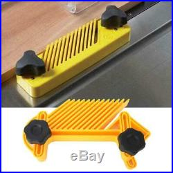 Double Feather Board Set for Router Table Saw Fence Woodworking Accessory New