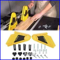 Double Featherboard Feather Board Kit Durable For Table To Saw Fence Top Y0R1