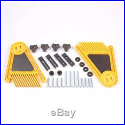 Double Featherboard Feather Board Kit Durable for Table Saw Router Fence Tool FS