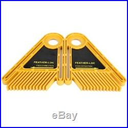 Double Featherboard for Trimmer Router Table Saw Fence Woodworking Accessory gl
