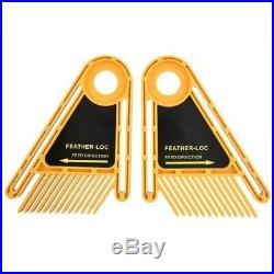 Double Featherboard for Trimmer Router Table Saw Fence Woodworking Tool Set Kit